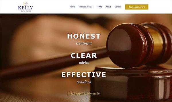 Kelly Law website