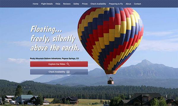 Pagosa Views website