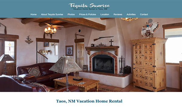 Tequila Sunrise website